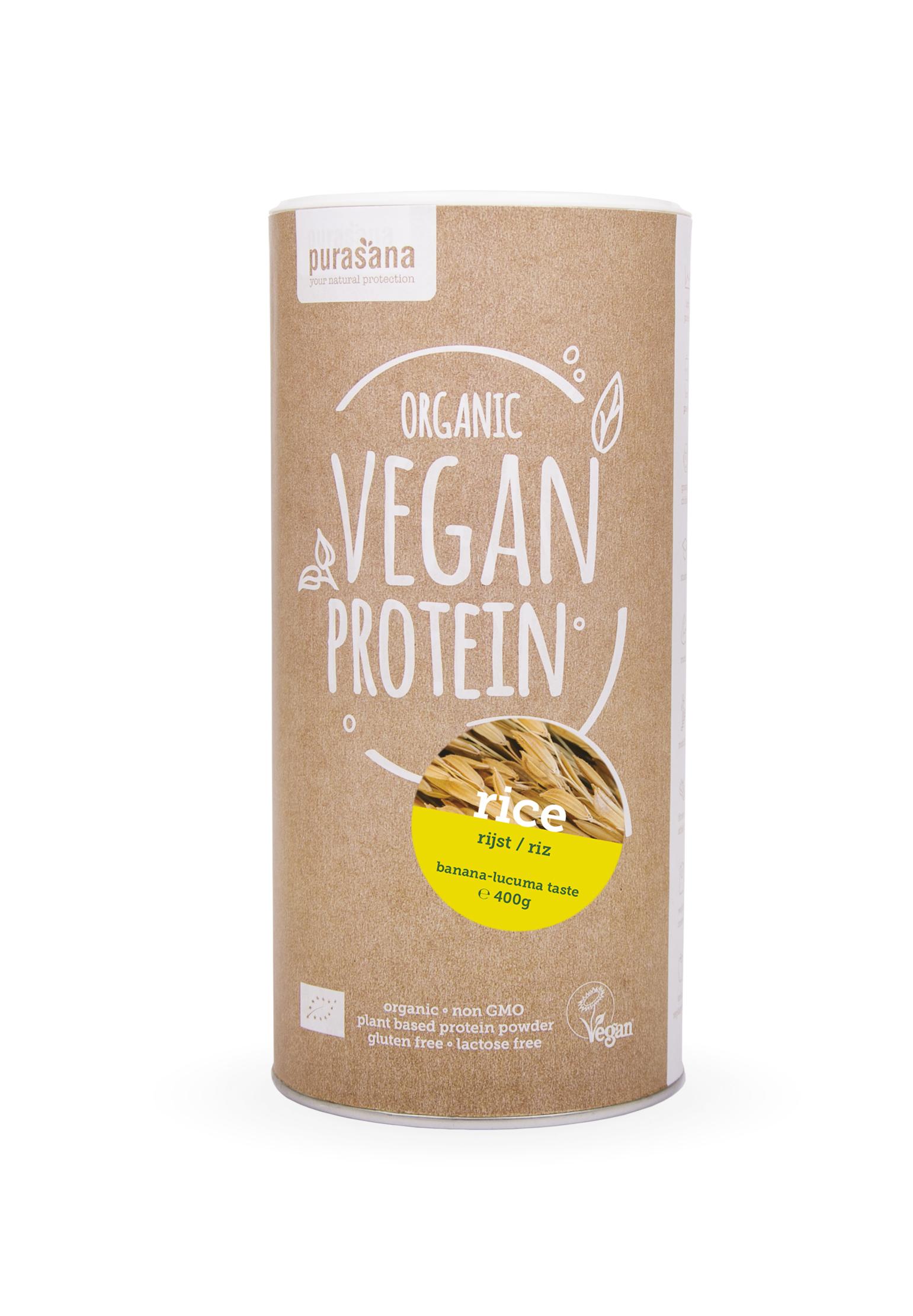vegan protein rice front