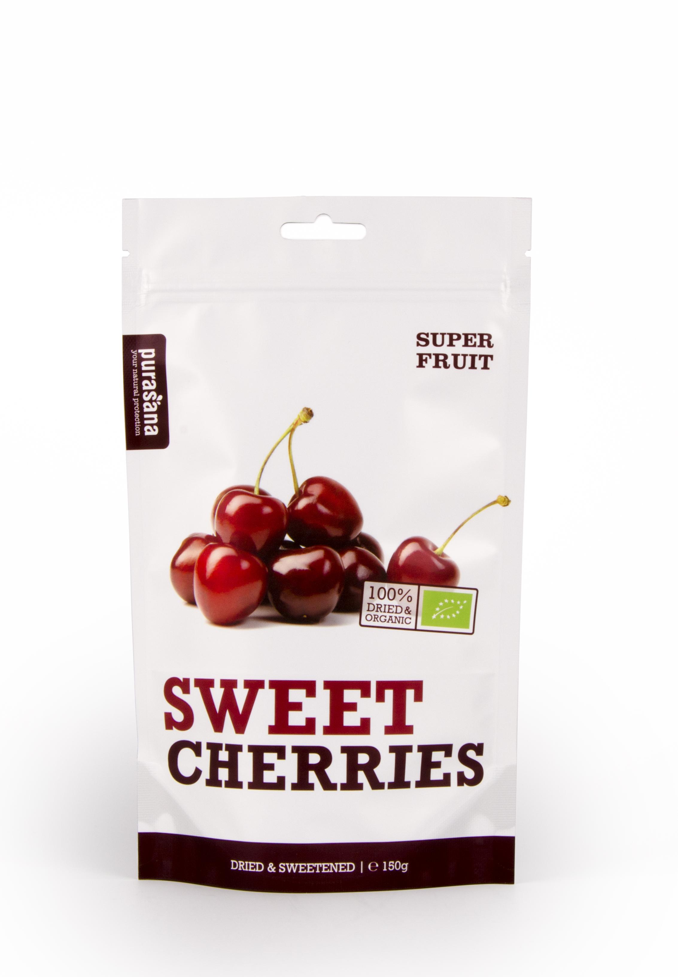 sweet cherries front