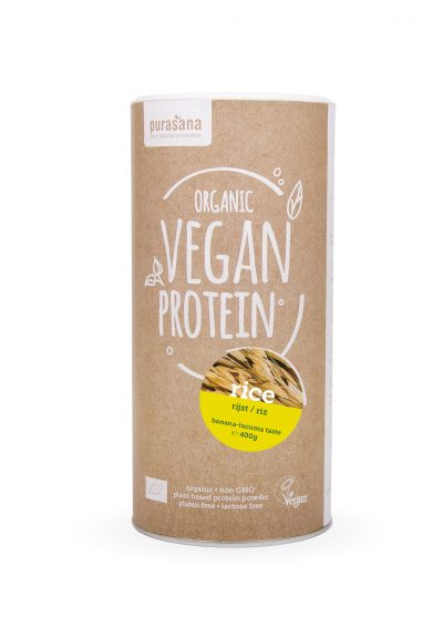 vegan protein rice front