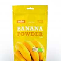 banana powder front